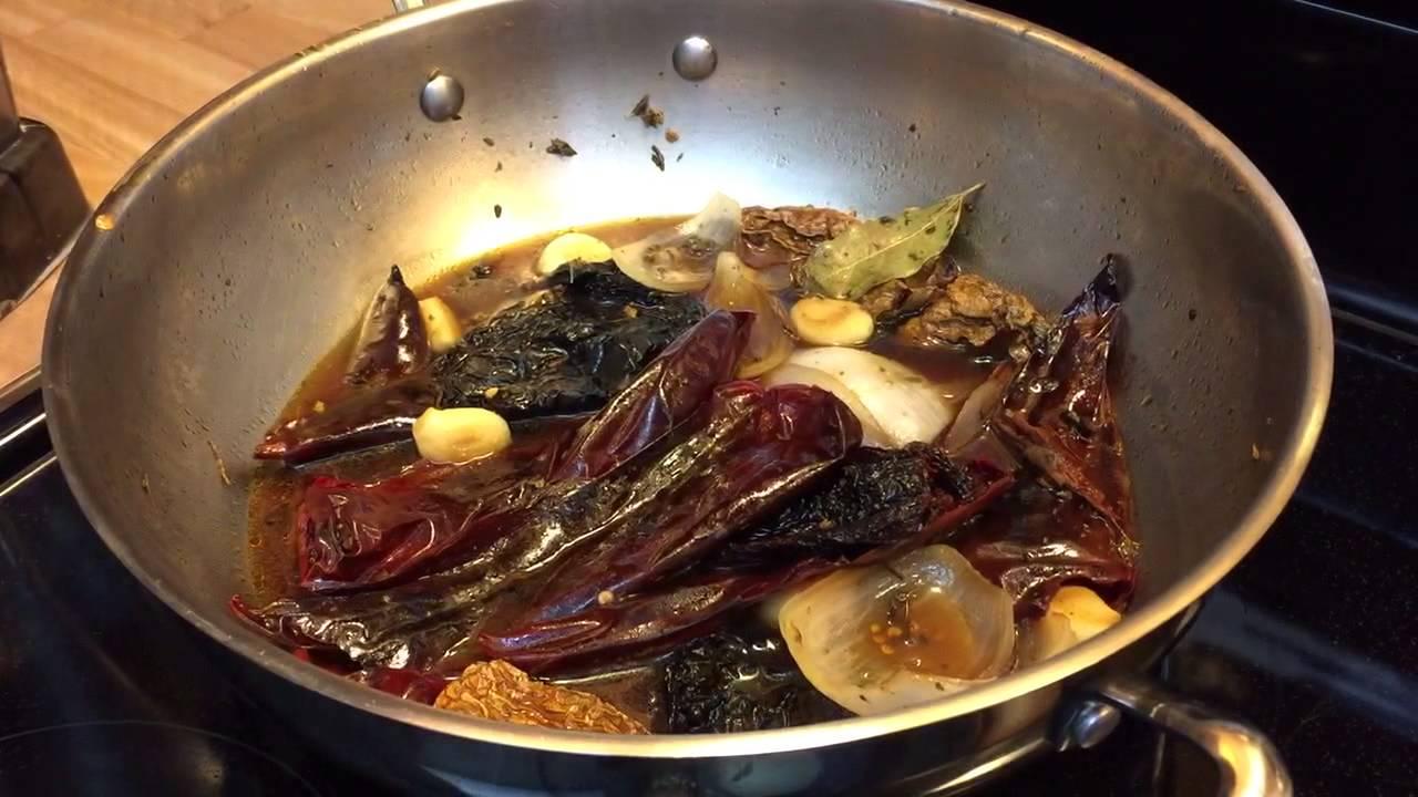 Barbacoa de res enchilada receta deliciosa for Ingredientes para preparar barbacoa