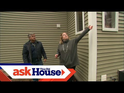 How to Repair Melted Vinyl Siding | Ask This Old House