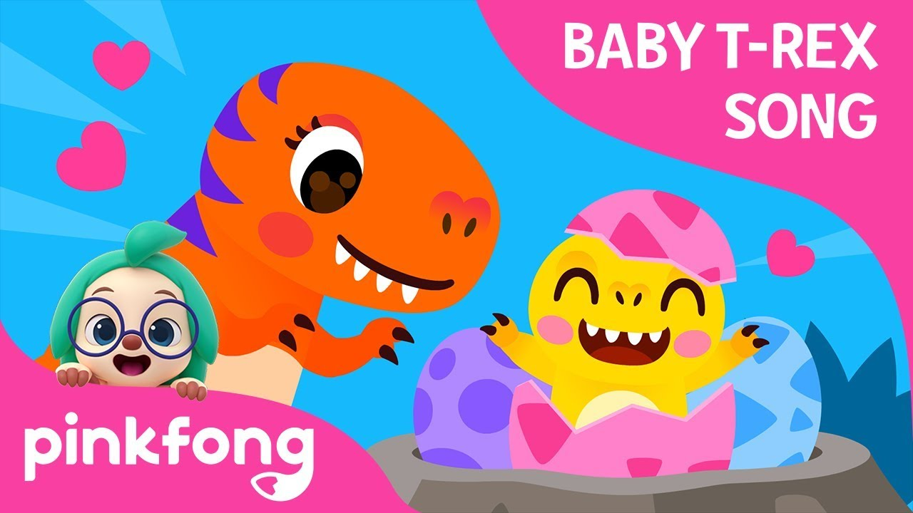 Fierce T-Rex Had Eggs | Baby T-Rex Songs | Dinosaur Songs | Pinkfong Songs for Children