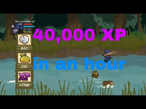 Castle Crashers Remastered Best XP Methods