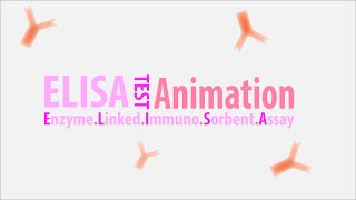 ELİSA testi ilkeler HD Animasyon - Enzim İmunno Hafifletici Tahlil HD Bağlantılı