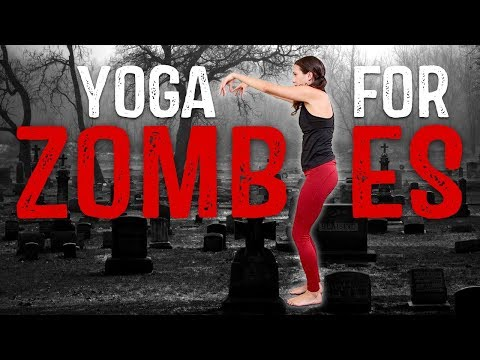 Yoga for ZOMBIES!  |  Yoga Claas With Adriene