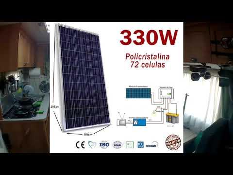 Установка и подбор солнечной системы на кемпер, подробная инструкция.