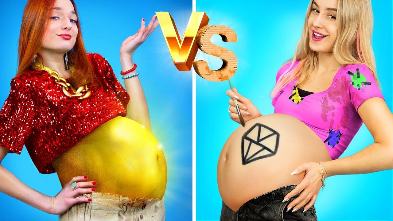 Download Rich Pregnant vs Broke Pregnant