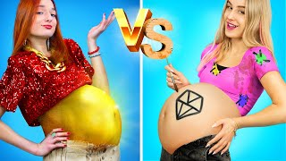 Rich Pregnant vs Broke Pregnant