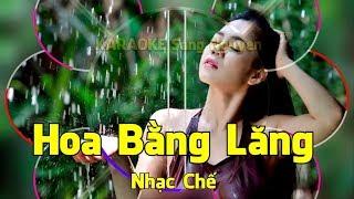 Hoa Bằng Lăng - Nhạc Chế - Bản Full  - KARAOKE HD