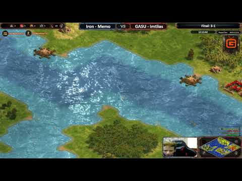 AoE DE | Memo - Iron vs GASU - Imtlias | Final - Map 5: L.Islands | AoE DE Trial Cup Season 2