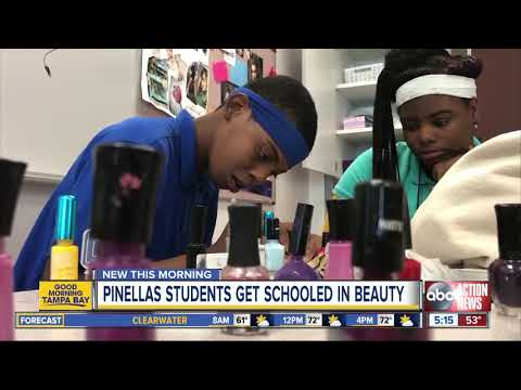 High schoolers embrace new cosmetology course at Lealman Innovation Academy in St. Petersburg