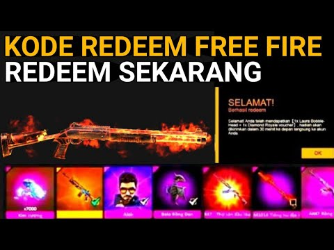 BURUAN REDEEM CODE FREE FIRE TERBARU 2020 ||| KODE REDEEM ...