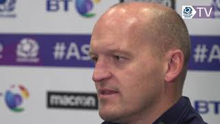 Gregor Townsend on the team to face Fiji