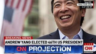 Andrew Yang Elected 46th President | Election Night 2020 on CNN