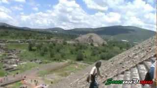Mi Visita a Las Piramides de Teotihuacán