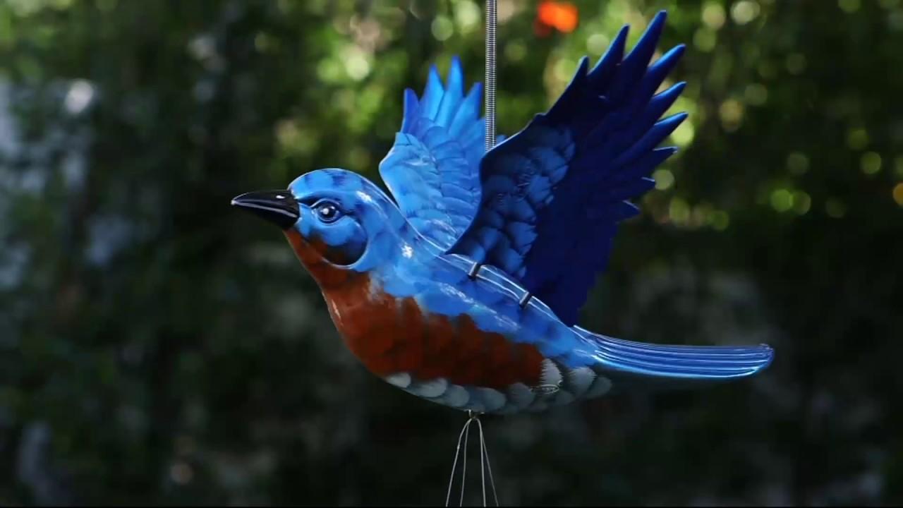 Windy Wings Fling Bird Wind Chimes On Qvc