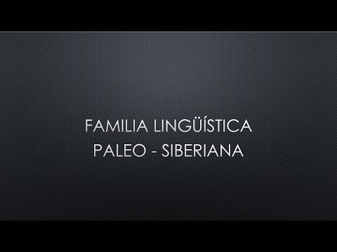 Lengua Paleo-Siberiana