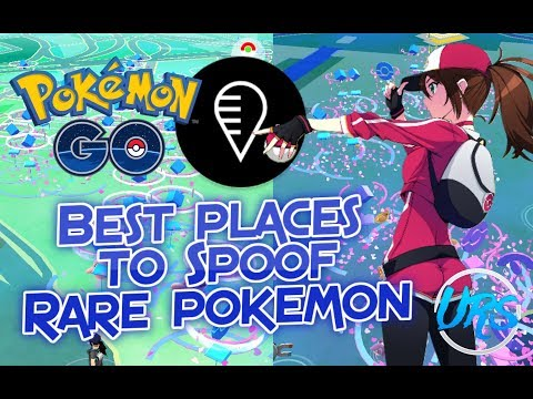 BEST PLACES to SPOOF in Pokemon Go! With FGL Pro (Top 5)
