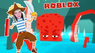 Roblox: KRAKEN INSEL ENTKOMMEN -Nina frees pirates & blasts octopus with TNT | ESCAPE KRAKEN ISLAND
