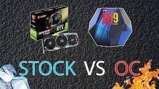 RTX 2080TI/I9 9900K STOCK VS OC | TEST [4K PL/ENG]