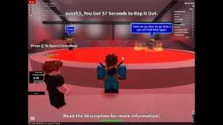 Random battles yo!: Ro-Blox Rap battles!