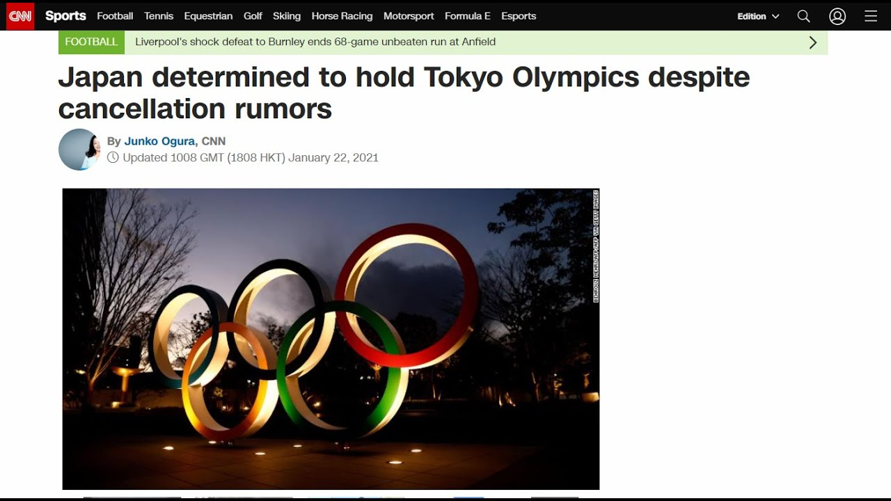 Japan denies as 'categorically untrue' report Tokyo Olympics could ...