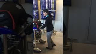 成田空港で羽生結弦!平昌五輪、日本代表選手団をお出迎え!
