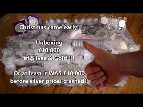 Unboxing £10,000+ Silver & Gold - Christmas came early!!!