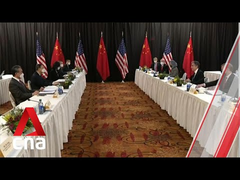 First high-level US-China talks under Biden administration kick off in Alaska