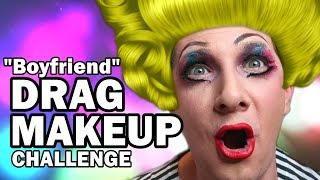 💄Drag Queen MakeUp Challenge - Man Vs MakeUp