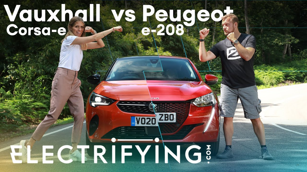 Vauxhall Corsa-e & Peugeot e-208: The gloves are off with Nicki Shields & Tom Ford /Electrifying