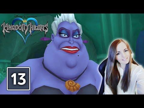 URSULA BOSS FIGHT | Kingdom Hearts 1.5 PS4 HD Remix Gameplay Walkthrough Part 13
