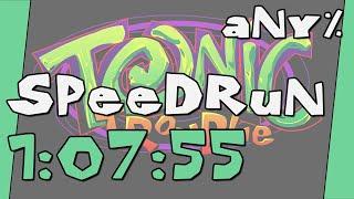 Tonic Trouble (RT Version): Any% Speedrun - 1:07:55