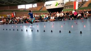 Romain Lebois - Best Trick - European Freestyle Skating Championship 2013
