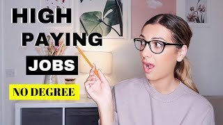 6 HIGH paying jobs for 18 year olds in the UK no MONEY no degree