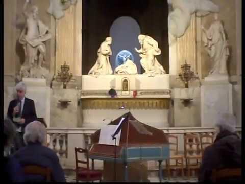 2013 11 05   The KENT CAMERATA   Claire PRADEL   Concert baroque   Eglise SAINT ROCH à PARIS   57m32