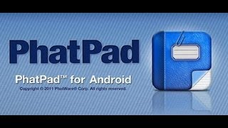 PhatPad Android App Review - CrazyMikesapps