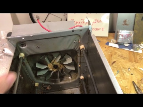 🔴 Stripping Miniature Convection Oven for Science Project