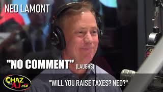 """Video Chaz and AJ: Will You Increase Taxes, Ned?"""" - Ned Lamont: """"No Comment"""" download MP3, 3GP, MP4, WEBM, AVI, FLV November 2018"""