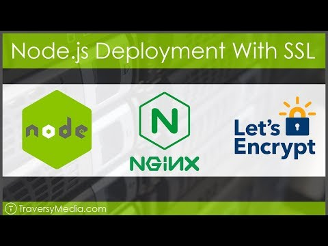 Full Node js Deployment - NGINX, SSL With Lets Encrypt - YouTube