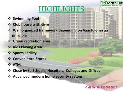 Gaur City 16th Avenue Noida Extension Call@  9560090047