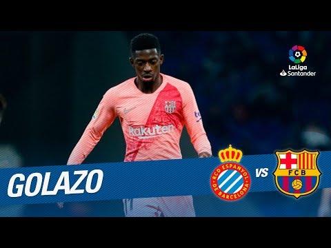 Golazo de Ousmane Dembélé (0-2) RCD Espanyol vs FC Barcelona Mp3
