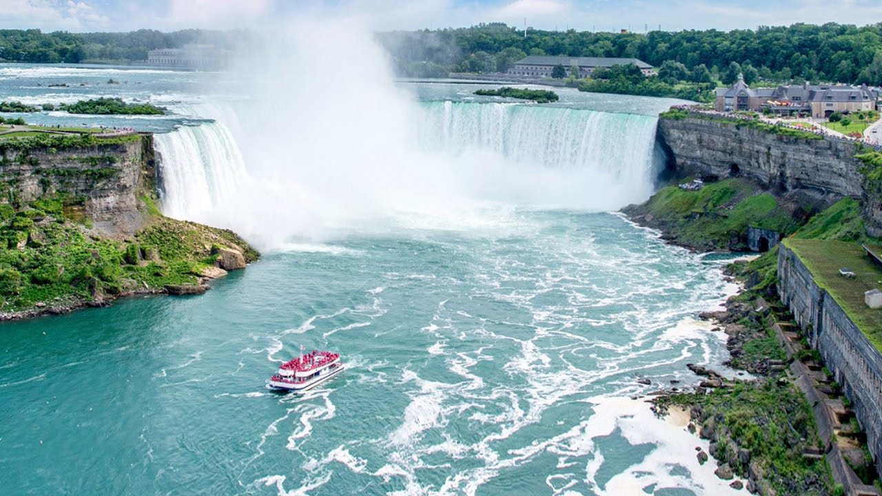 CANADÁ: AS FABULOSAS CATARATAS DO NIÁGARA - YouTube