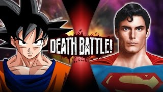 Goku VS Superman | DEATH BATTLE!