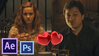 After Effects TUTORIALS - How to Put Yourself Inside Any Movies