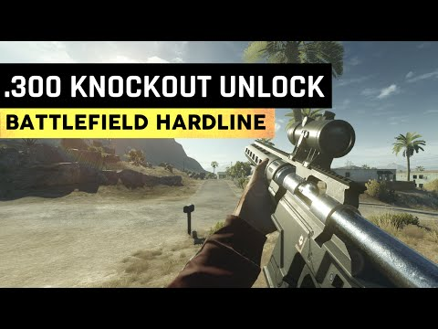 How To Unlock The .300 KNOCKOUT & Camera Coins: Professional Syndicate Battlefield Hardline Gameplay