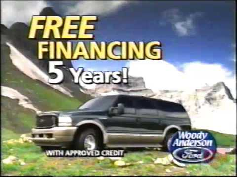 Woody Anderson Ford Television Commercial 2003 Huntsville