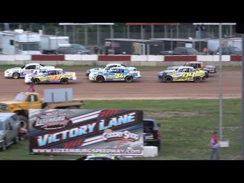 IMCA Stock Cars Heat #2 6/8/2018 @ Luxemburg Speedway