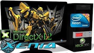 XENIA DX12 [Xbox 360] - Transformers: The Game [Gameplay] DirectX 12 api #4