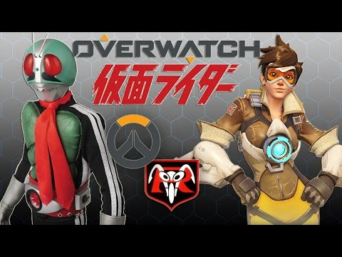 KAMEN RIDER × OVERWATCH - PLAY OF THE GAME