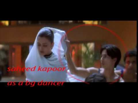 saheed kapoor as a back side dancer mpg