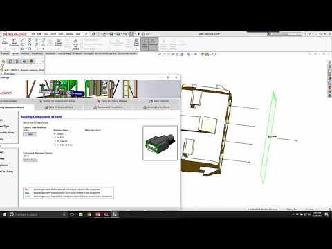 SOLIDWORKS Electrical 3D 2018 - Electrical Component Wizard