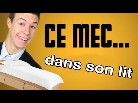 CE MEC... - Dans son lit